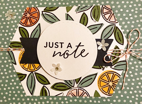 Simply Citrus Card Kit