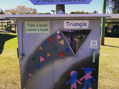 Take a book, leave a book...