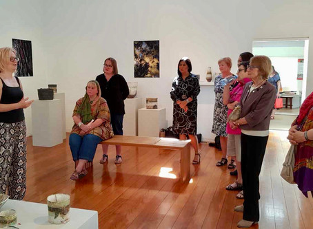 Ceramic Exhibition and Lunch at Sturt Gallery, Mittagong