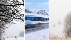 Early snowfall 2020, a long ride towards Beijing 2022 Winter Olympics....