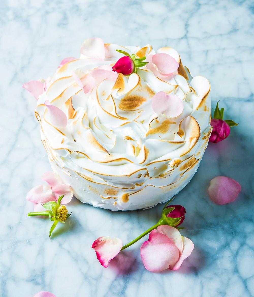 Tortas Aliaska, ledų tortas, ledų desertas, Alfo receptai
