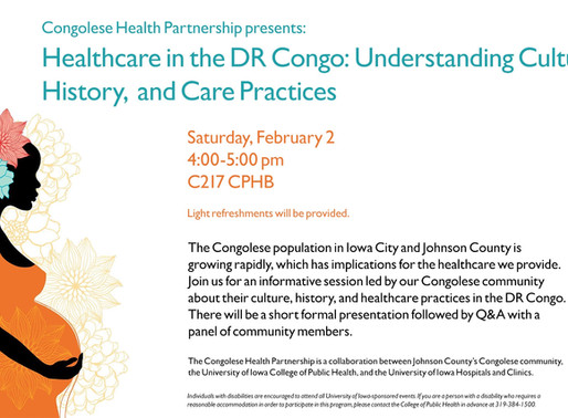 Seminar: Healthcare in the DR Congo: Understanding Culture, History, and Care Practices