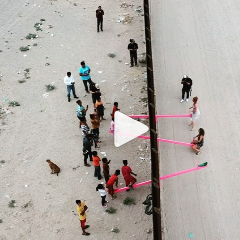Team of Artists Installed Seesaws at US/Mexico Border