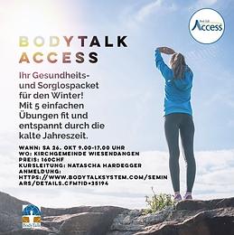 BodyTalk; Access