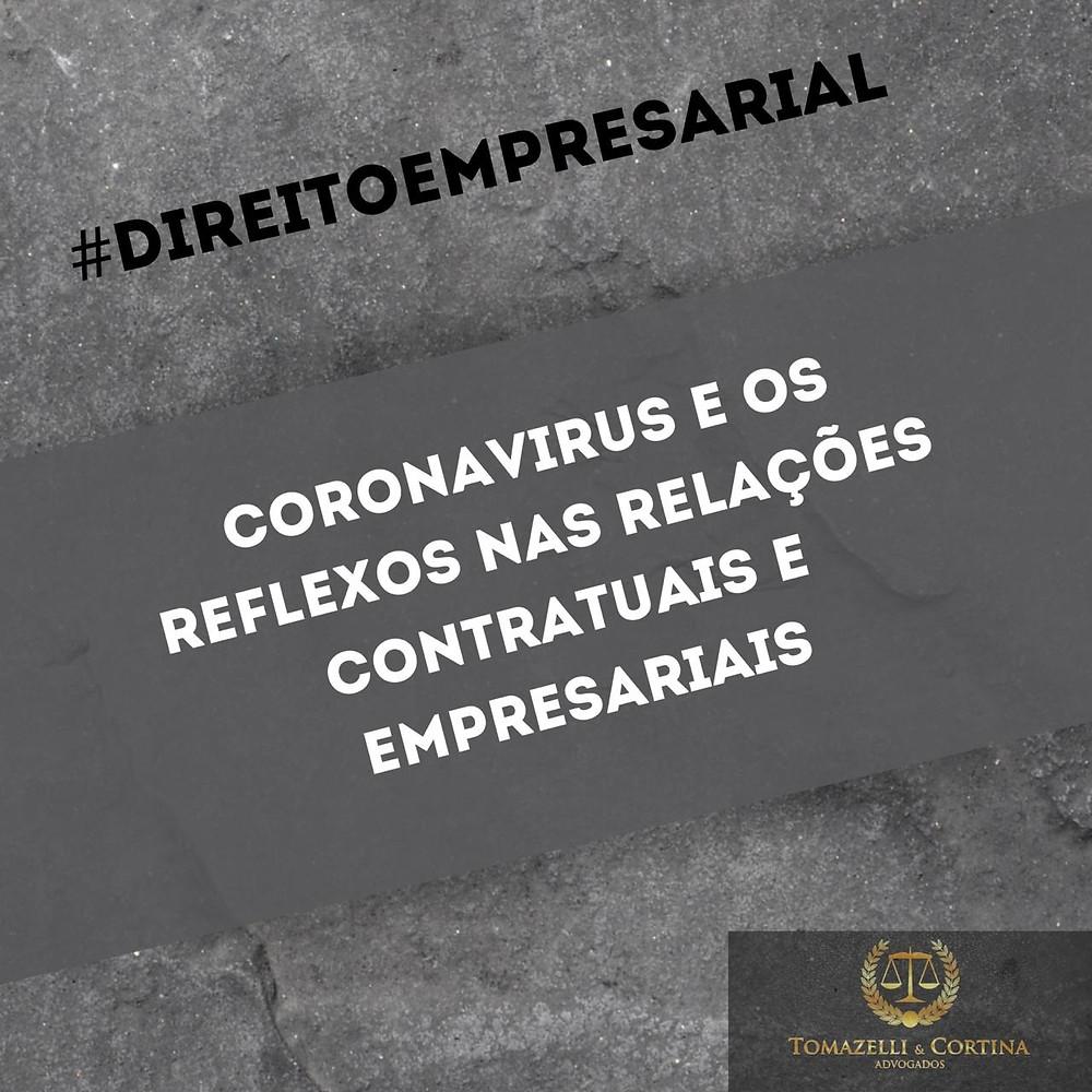 coronavirus contrato direito empresarial