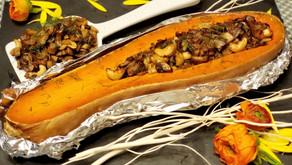 煙肉蘑菇南瓜盤