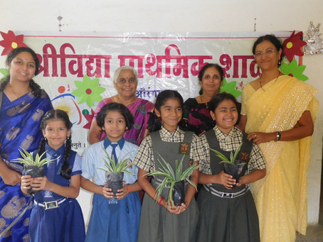 श्रीविद्या प्राथमिक शाळेत वक्तृत्व स्पर्धा संपन्न