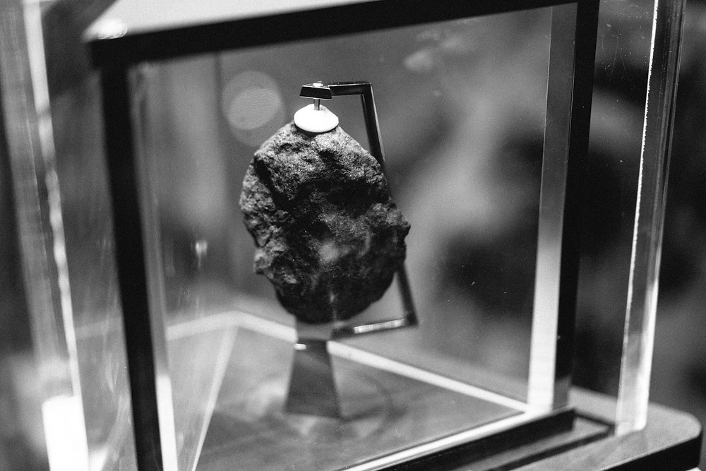 Moon rock closeup