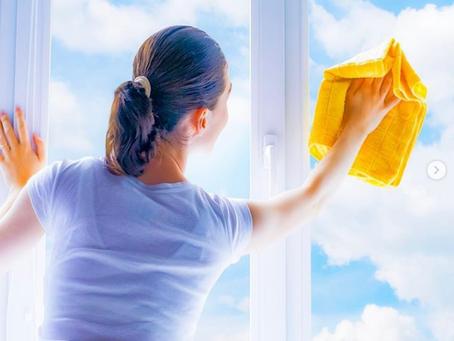 Время мыть окна!