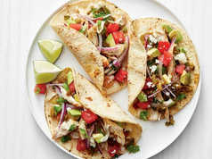Healthy Chicken Watermelon Tacos