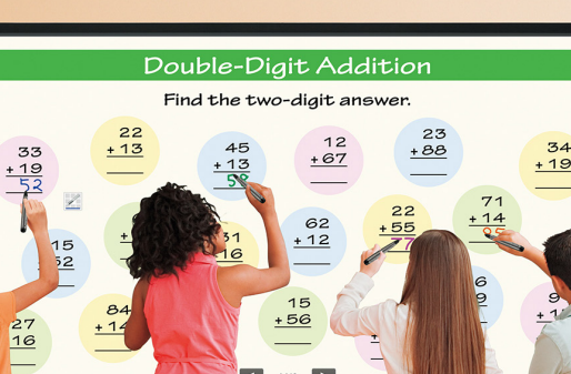 AQUOS and Interactive Whiteboards in Schools