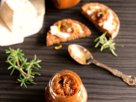 Mediteranski džem od smokava sa pomorandžom