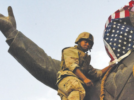 Did the US occupation of Iraq taint the concept of democracy for the country?