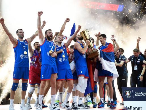 Par Eiropas čempioniem volejbolā kļūst Serbija 2019