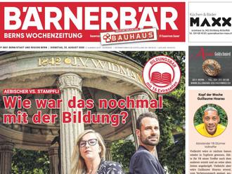 Wie war das mit der Bildung? | Bärner Bär, 25.08.2020