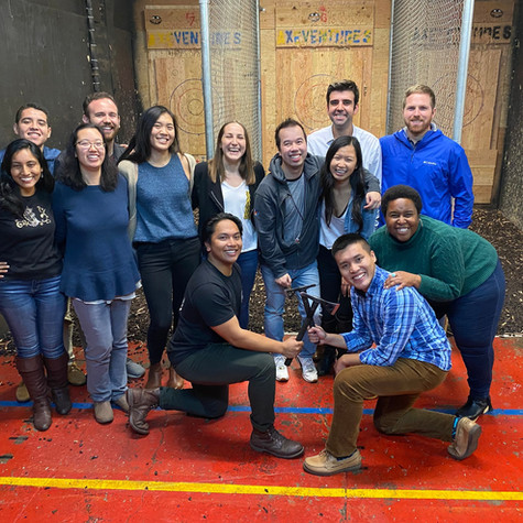 December Recap: GBM And Axe Throwing