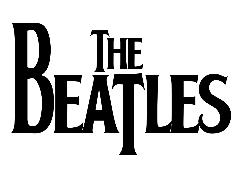 The Beatles logo and brand name