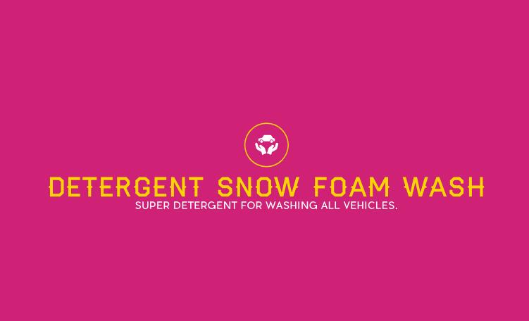 DETERGENT SNOW FOAM WASH