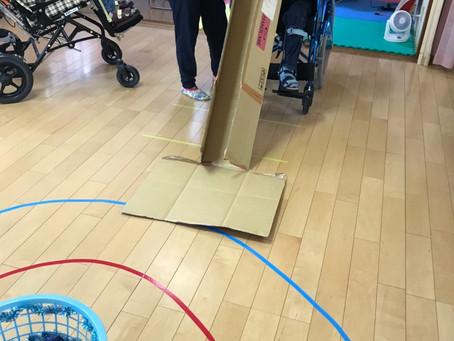 ボール遊びで🎳体を動かそう!