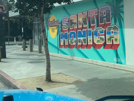 Spending Time in Santa Monica