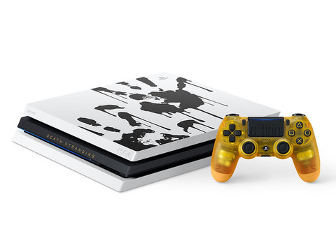 PS4 Pro Limited Edition im Death Stranding-Design