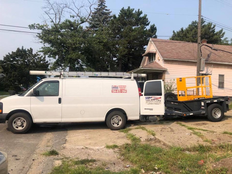 Went commercial today 12 x14 insulated in Detroit