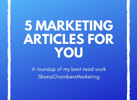 A roundup of my 5 most read articles
