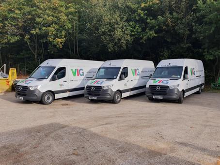 New vans added to fleet