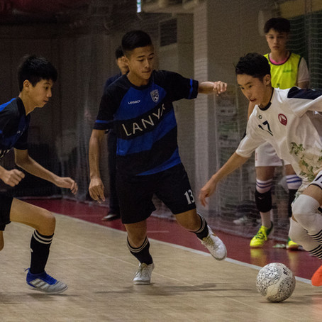 Fuga、五人制足球-零秒內切換的第三章