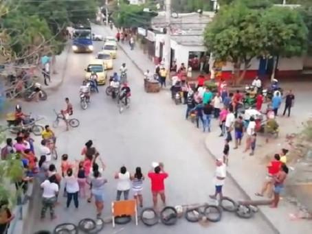 El pueblo no aguanta más sed en Santa Marta