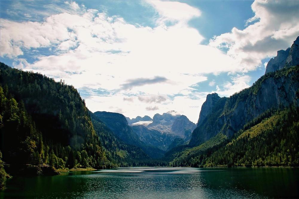 אגם גוסאו בטיול משפחתי באוסטריה