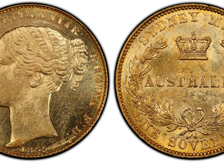 The World's rarest Gold Sovereigns Part 3: Queen Victoria Colonial Mints.
