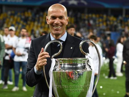Zidane: craque dentro e fora dos campos