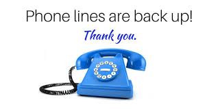 Phone Lines Are Working