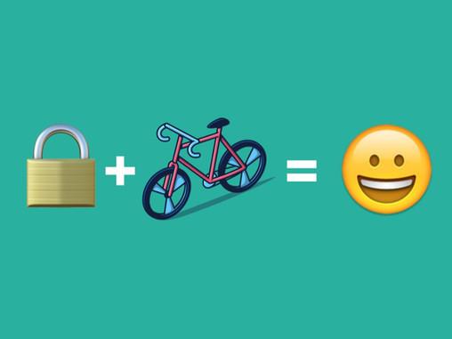 4 simple bike security tips 🔒