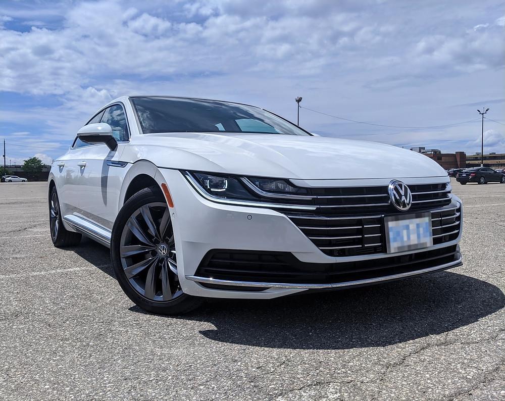 2020 Volkswagen Arteon White Execline