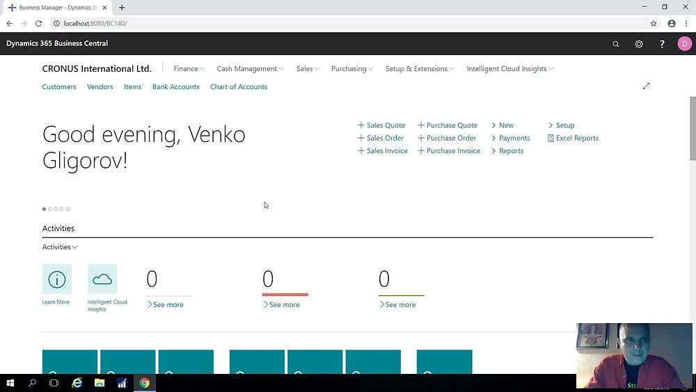 Новата априлска 2019 веб верзија на Microsoft Dynamics 365 Business Central