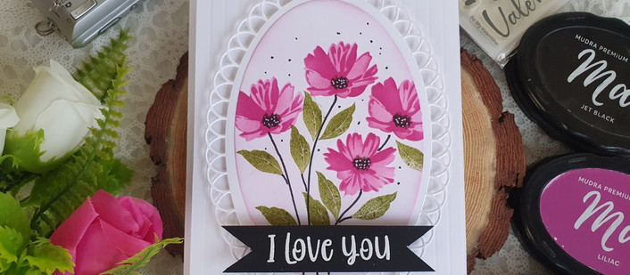 Floral Love (Layer Stenciling)