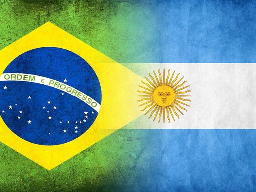 Rivais nos gramados e parceiros nas negociações: As relações comerciais entre Brasil e Argentina.