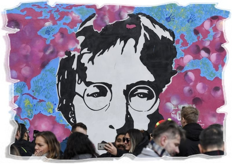 Стена Джона Леннона в Праге | Rock Auto Club
