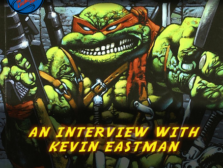 An interview with Ninja Turtles Co-Creator Kevin Eastman