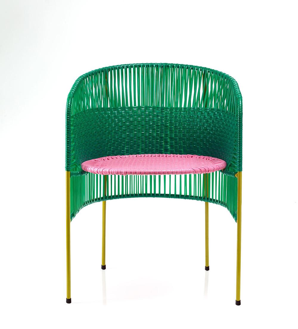 Zero Waste Design   recycled plastic string   Ames   Design Milk   Design w Care