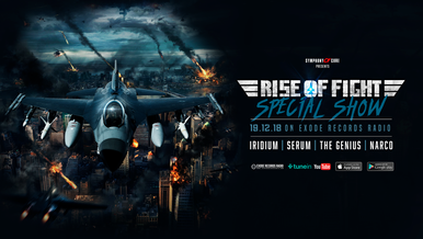 Tonight on Exode Records radio [Rise of Fight special]