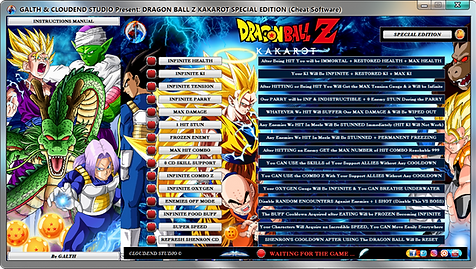 cloudend studio, Dragon Ball Z Kakarot, DBZK, Dragon Ball z kakarot cheats, DBZK Trainer, DBZK codes, DBZK Tricks, Dragon Ball Z Kakarot Trainer, Dragon Ball Z Kakarot Mod, DBZ Kakarot Cheats, Dragon Ball Z Kakarot Gameplay, cheats trainer, super cheats, cheats, trainer, code, mod, tips, steam, pc, cheat engine, cheat table, save editor, free key, tool, game, dlc, 100%, fearless revolution, wemod, fling trainer, mega dev, mega trainer, rpg, achievements, cheat happens, 作弊, tricher, tricks, engaños, betrügen, trucchi, news, ps4, xbox, Youtube Game, hack, glitch, walkthrough,