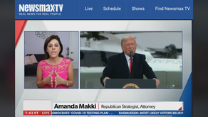 Amanda Makki joins Newsmax National Report with Emma Rechenberg and Erin Elmore 10/28/2020