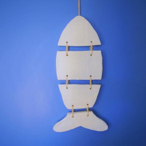 Διακοσμητικό Ψάρι από Πηλό