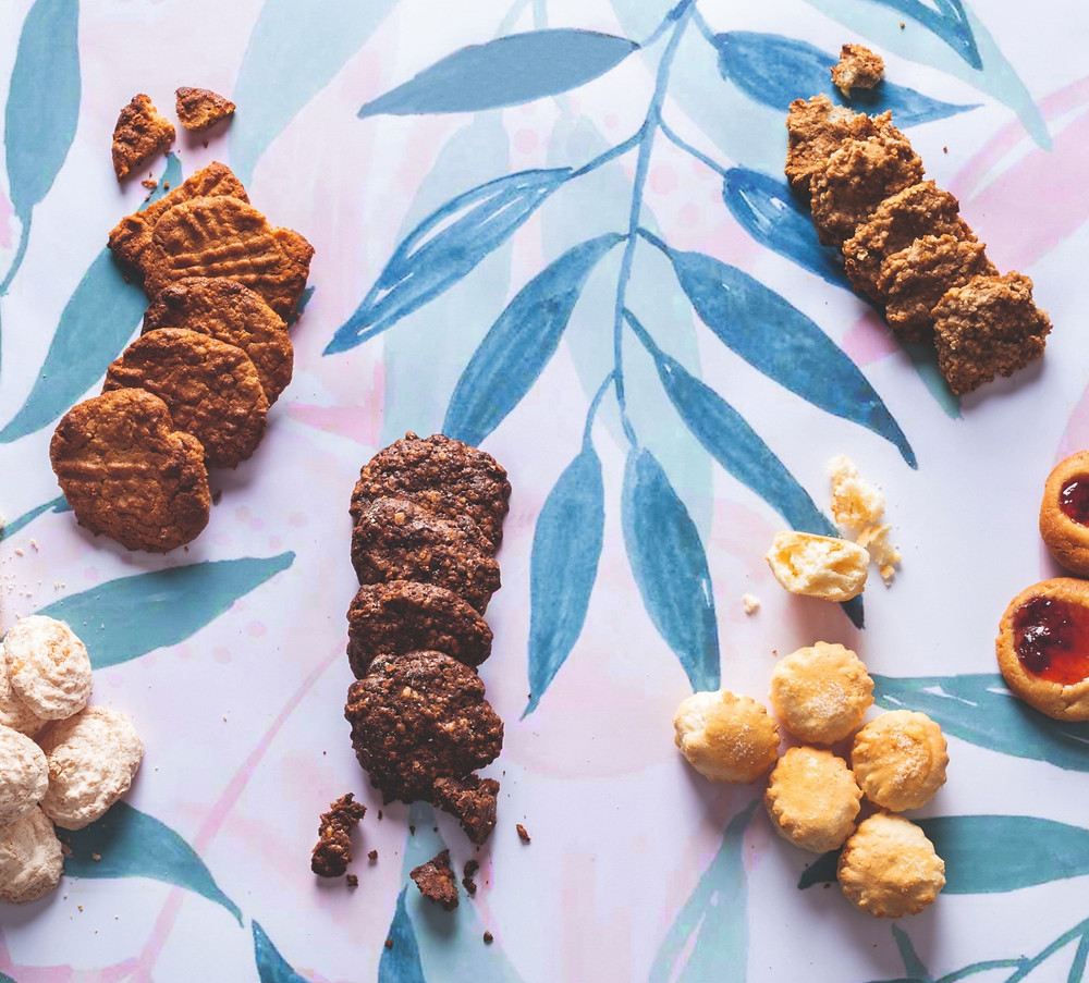 sausainiai per penkias minutes, avižiniai sausainiai su nutella, nutellos sausainiai, Alfo receptai, Alfas Ivanauskas