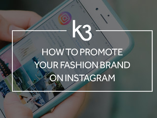How to promote your fashion brand on Instagram