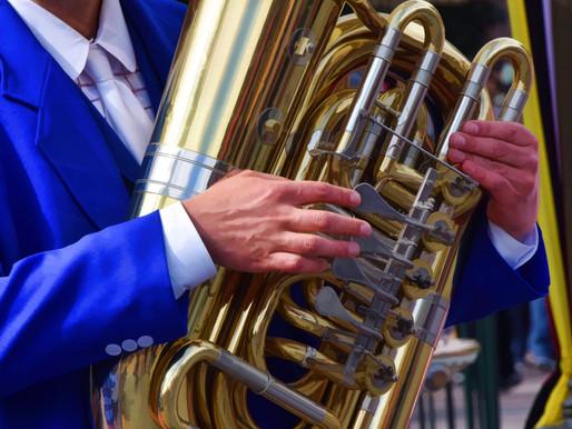 October 2019 Musical Instrument Calendar