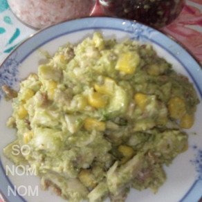 Avocado Lemon Chicken Salad
